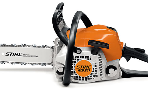stihl ms211 mini boss chainsaw gympie mower centre. Black Bedroom Furniture Sets. Home Design Ideas