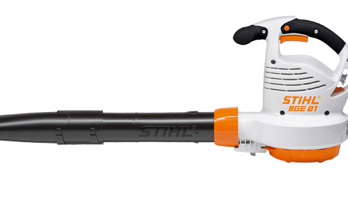 stihl bge81 homeowner electric blower gympie mower centre. Black Bedroom Furniture Sets. Home Design Ideas