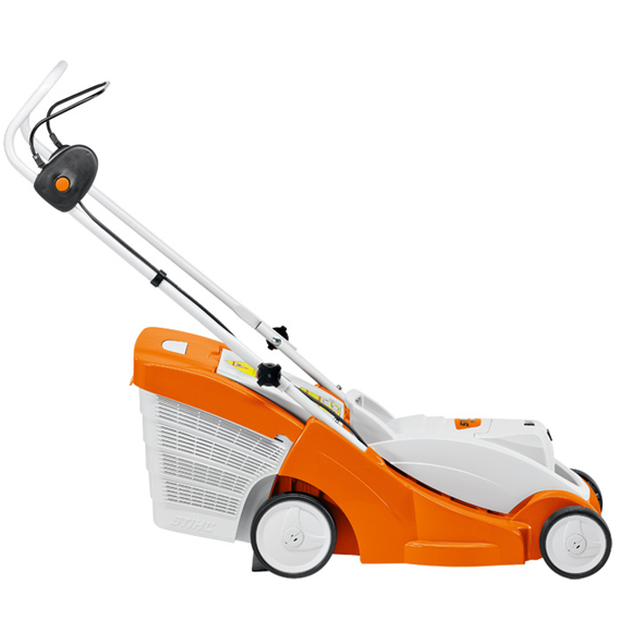 stihl rma370 cordless lawn mower dry gympie mower centre. Black Bedroom Furniture Sets. Home Design Ideas